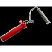 Валик прикаточный - алюминиевый поперечный D12 мм*100 мм