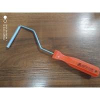 Валик прикаточный - алюминиевый поперечный D10 мм*75 мм
